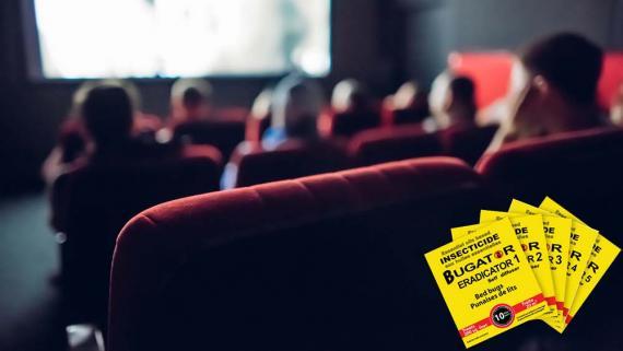 Punaise de lit au cinéma UGC Les Halles Paris - Bugator